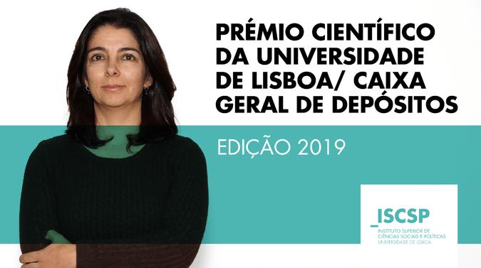 Susana Garcia vence Prémio Científico da Universidade de Lisboa/ Caixa Geral de Depósitos
