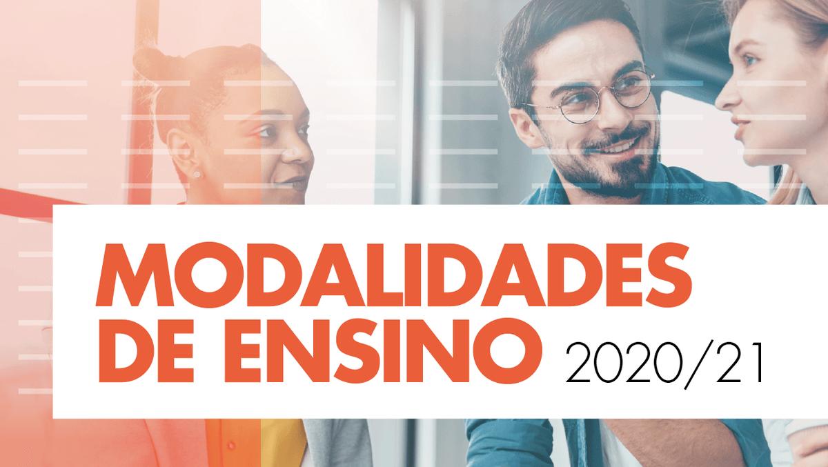 Modalidades de ensino no ISCSP-ULisboa para o ano letivo 2020/21