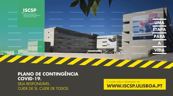 Plano de Contingência para o COVID-19 do ISCSP-ULisboa