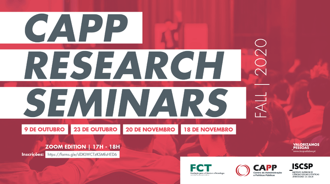 CAPP Research Seminars - fall 2020