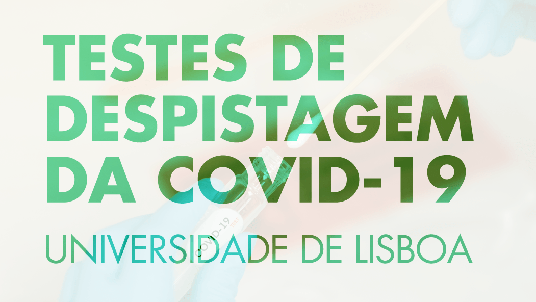 ULisboa inicia testes de despistagem da Covid-19