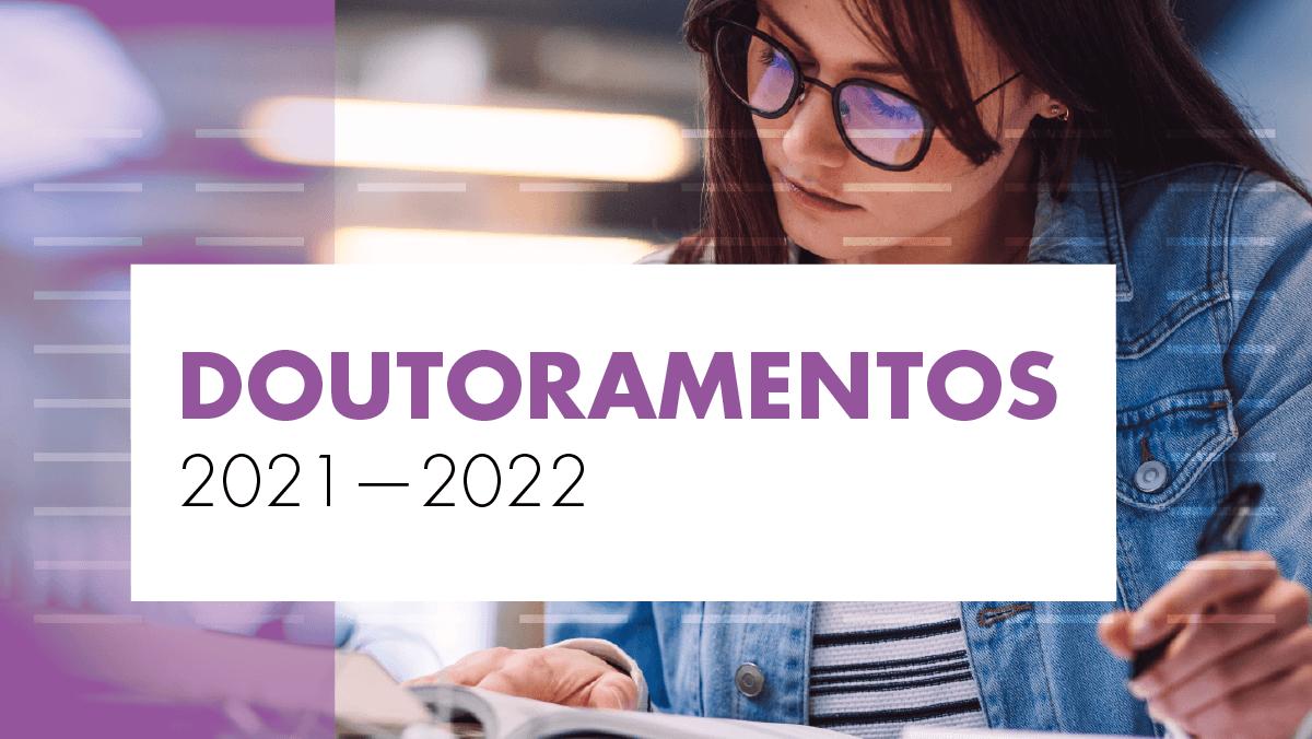 Candidaturas aos doutoramentos do ISCSP 2021/2022