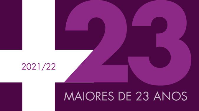 Abertas as candidaturas para as Provas de Maiores de 23 anos – 2021/2022