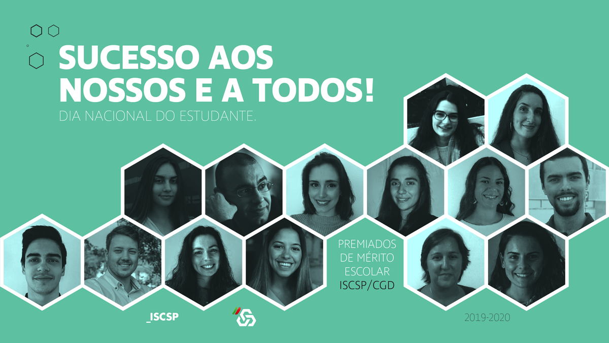 ISCSP e CGD atribuíram 13 Prémios de Mérito Escolar aos finalistas de 2019/2020