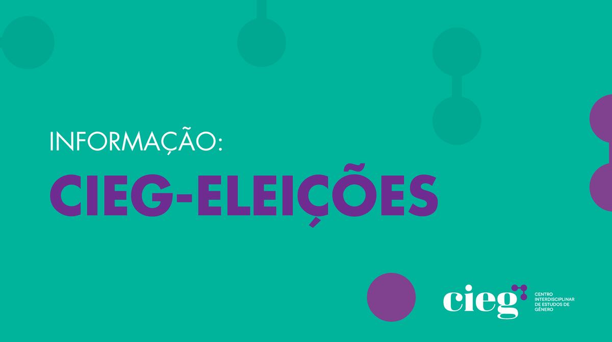 Processo eleitoral para eleição do(a) Diretor(a) do CIEG