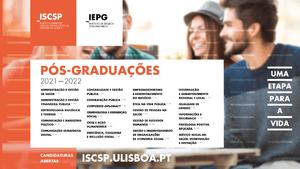 Candidaturas às pós-graduações 2021/2022