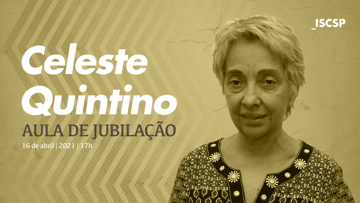 Aula de jubilação da Professora Celeste Quintino
