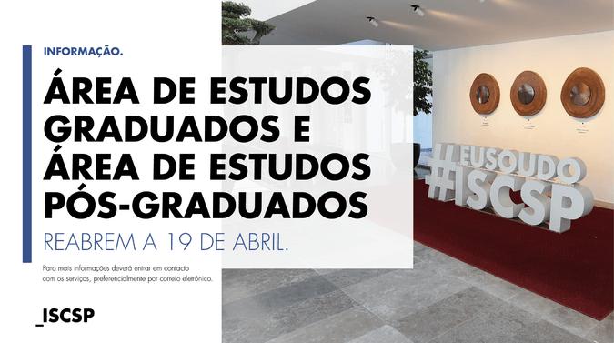Abertura dos serviços administrativos de apoio aos cursos conferentes de grau