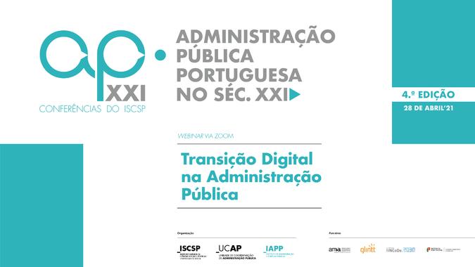 Transição Digital na Administração Pública debatida no ciclo de conferências AP XXI