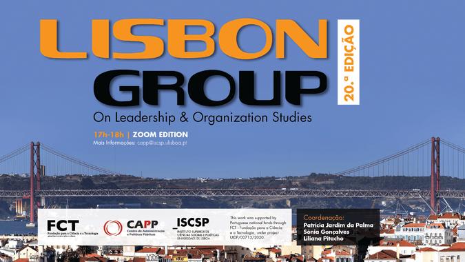 Lisbon Group on Leadership and Organization Studies regressa para a 20.ª edição