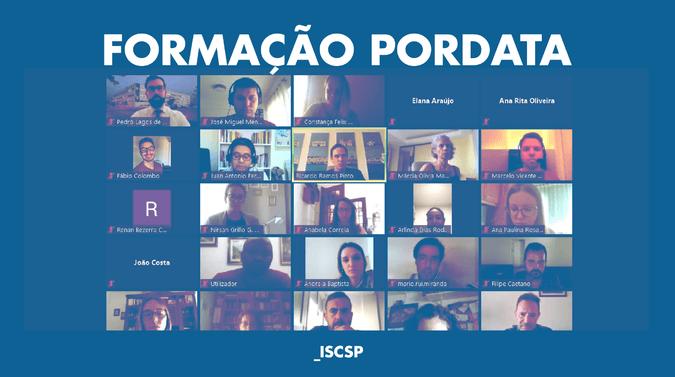 Formação PORDATA – Parceria ISCSP/FFMS