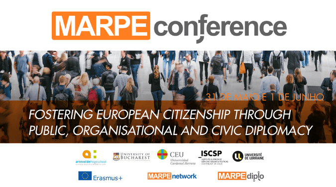 MARPE Diplo Conference: Fostering European Citizenship through Public, Organisational and Civic Diplomacy