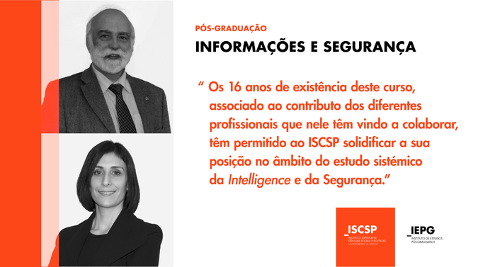 Pós-Graduação em Informações e Segurança