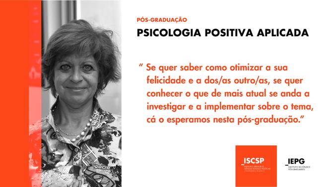 Pós-Graduação em Psicologia Positiva Aplicada