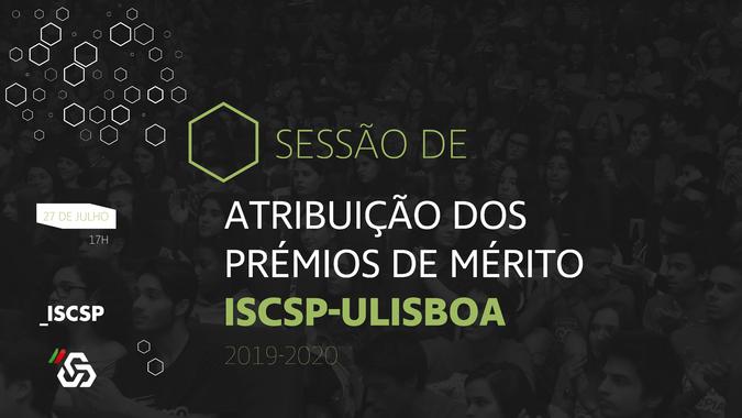 ISCSP-ULiboa atribui Prémios de Mérito 2019/2020