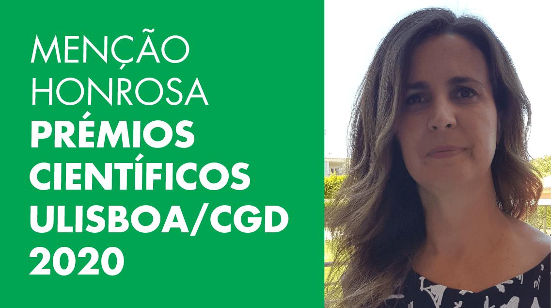 Professora do ISCSP distinguida nos Prémios Científicos ULisboa/CGD