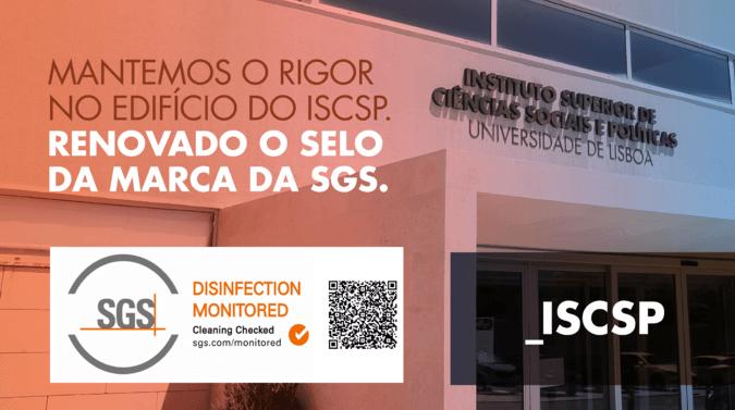 """Marca da SGS """"Disinfection Monitored""""  foi renovada"""