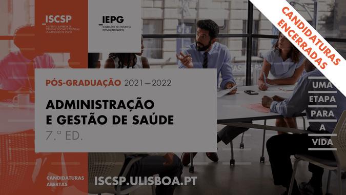 ISCSP encerra candidaturas à pós-graduação em Administraçã