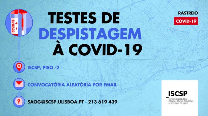 ULisboa retoma testagem à Covid-19