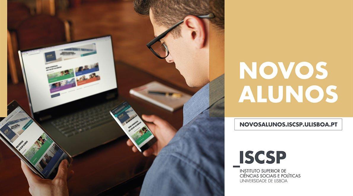 Novos alunos: microsite do ISCSP-ULisboa esclarece as suas dúvidas