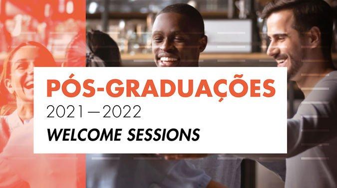 Sessão de boas-vindas - Pós-graduações 2021-2022